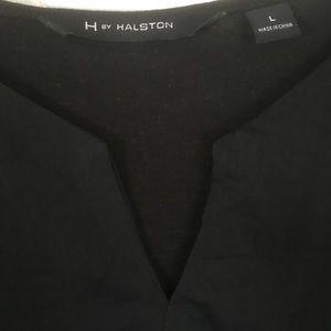 "L. H by Halston black "" silky"" dressy tank"